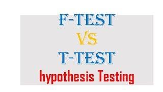F test v/s T test || Hypothesis Testing| 8948156741| NTA ugc Net Dec 2018