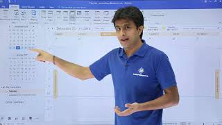 Ms Outlook - Introduction To Calendar