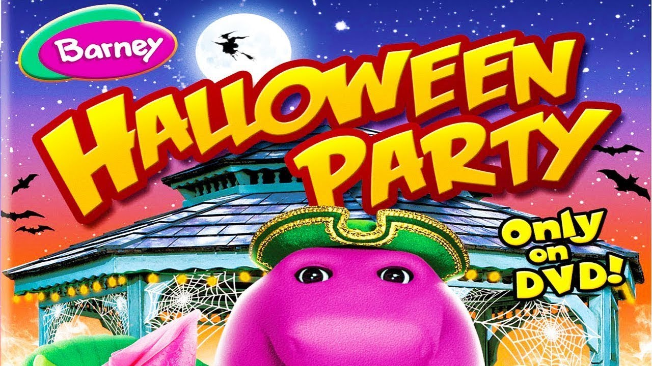 barney halloween party youtube - Halloween Youtube Kids