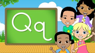 The Letter Q | Alphabet A-Z | Jack Hartmann Let's Learn from A- Z