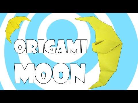 DIY: Simple Origami Moon Tutorial