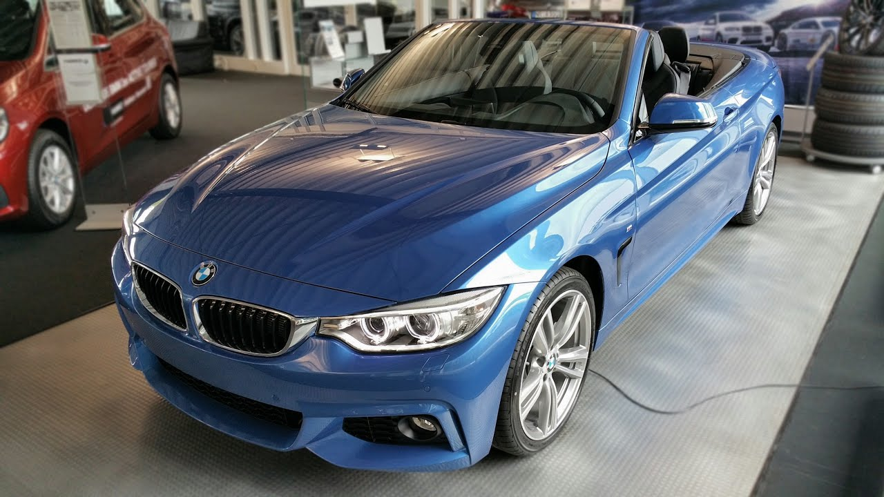 2015 bmw 420d cabrio m sportpaket interior exterior youtube. Black Bedroom Furniture Sets. Home Design Ideas