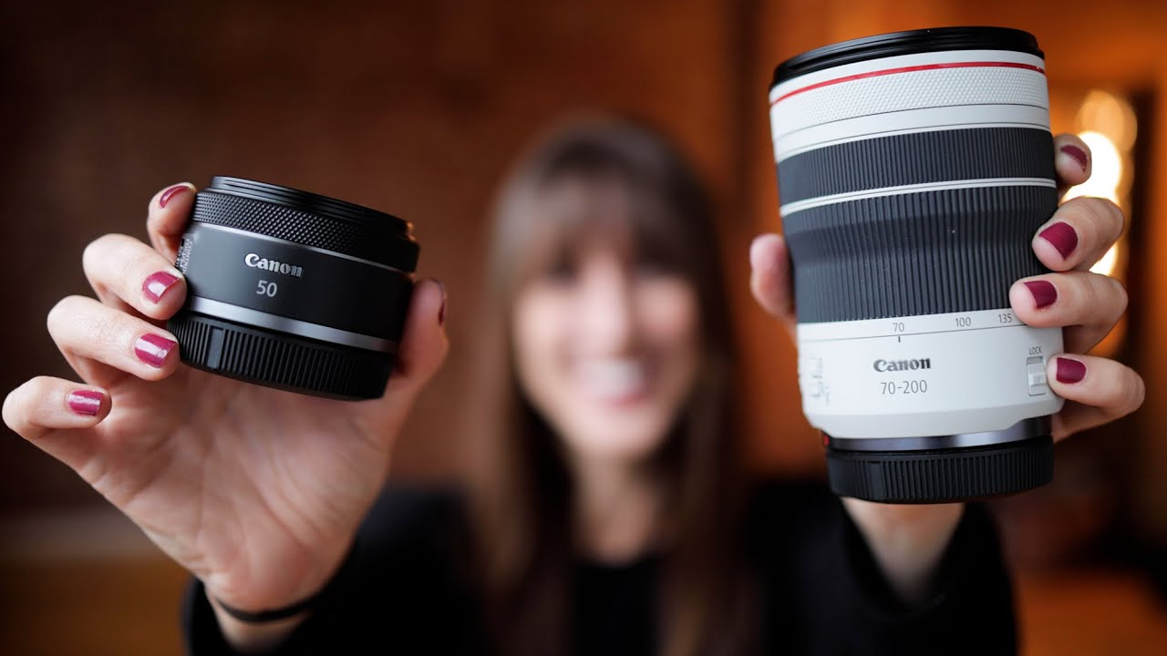 Download Canon RF 50mm f1.8 and RF 70-200mm f4   Hands On with Vanessa Joy