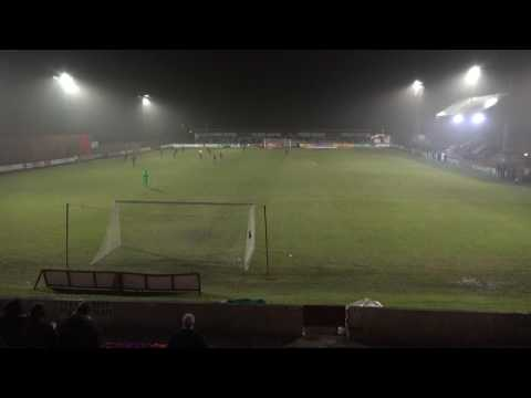 06-12-2016 Brechin V Albion Rovers -- Goal View