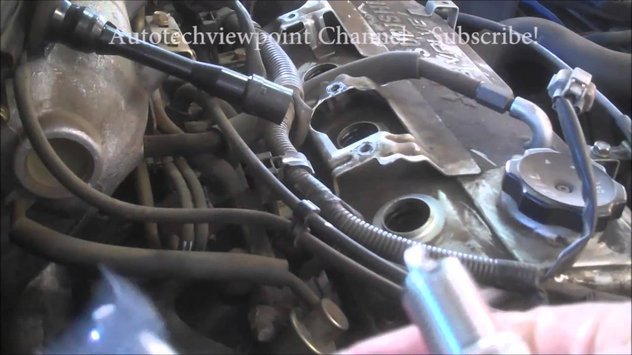 how to make spark plug wires without crimper