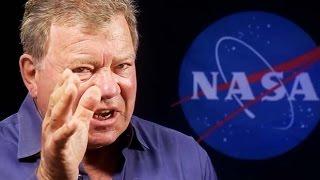 William Shatner Talks Science Fiction vs. Science Fact   Video