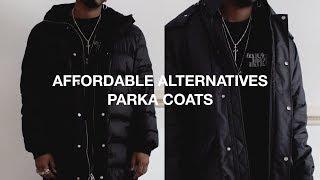 Affordable Alternatives: Parka Coats (Four Options)