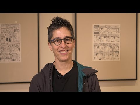 Self-Confessed! The Inappropriately Intimate Comics of Alison Bechdel