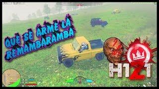 H1Z1: Va!! Va!! Va!! Que Se Arme La Balacera, A ver Quien Sobrevive - Triple Kill || Gameplay PS4 ||