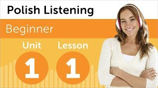 Learn Polish - Polish Listening - At the Jewelry Store in Poland