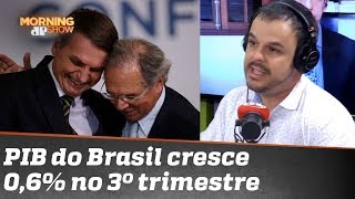 Adrilles Jorge: crescimento do PIB se deve aos métodos do governo Bolsonaro