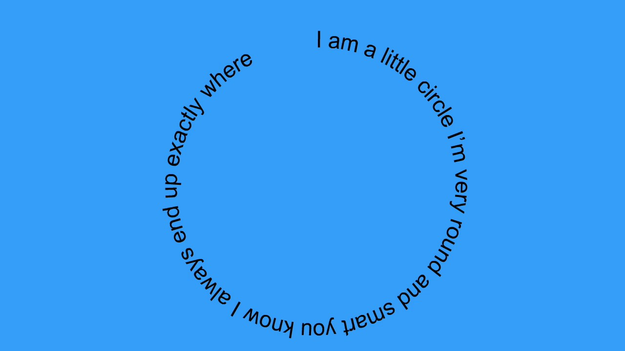 I Am A Little Circle. (Fun Children's Poem About Shapes
