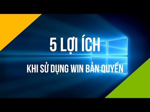 5 lợi ích của việc dùng Windows bản quyền | surfaceviet.vn