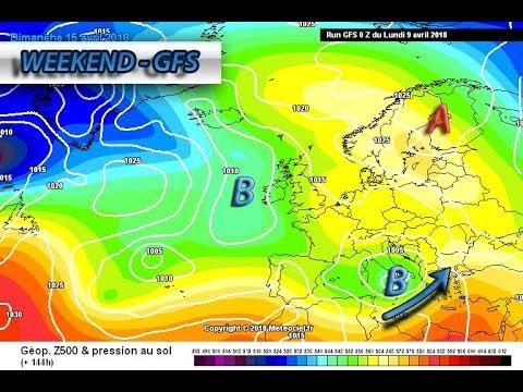 METEO WEEKEND ancora all'insegna di piogge e temporali in Italia