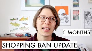 An Update On My Shopping Ban After 5 Months