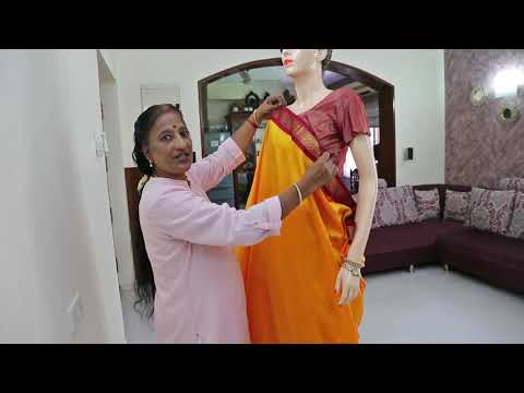 9 Easy Steps To Tie 9-yards Madisar Saree