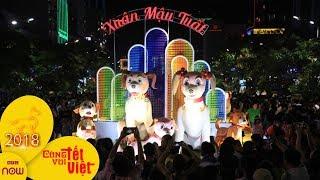 Đường hoa Nguyễn Huệ đông nghịt người ngày khai mạc | VTC1