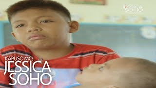 Kapuso Mo, Jessica Soho: 11-year-old boy serves as a parent to younger brother