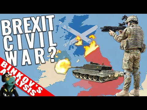 What If Brexit Leads To A Civil War? Scotland And N. Ireland Fight For Independence