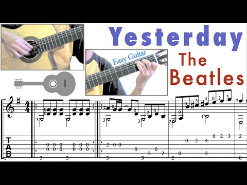Yesterday  / The Beatles (Guitar)