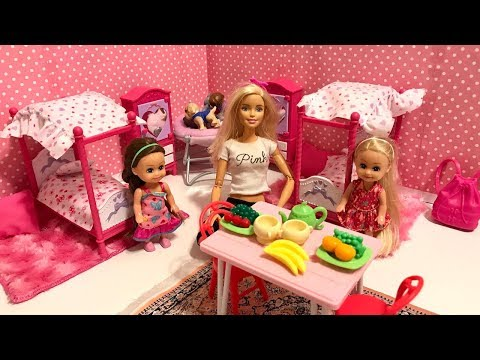 Barbie Family Day Routine!!