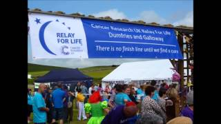 Dumfries and Galloway Relay For Life over the years