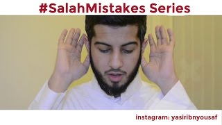 #SalahMistakes Series - Correct Your Mistakes In Salah
