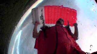 2011 – 07 – Nijmegen Wingsuit Demo Skydive