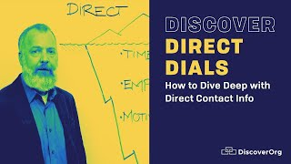 How Your Sales Team Can Dive Deep with Direct Dial Numbers