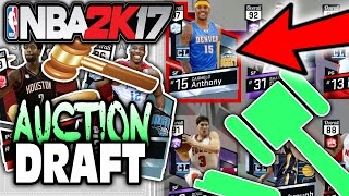 Auction house draft! nba 2k17 squad builder