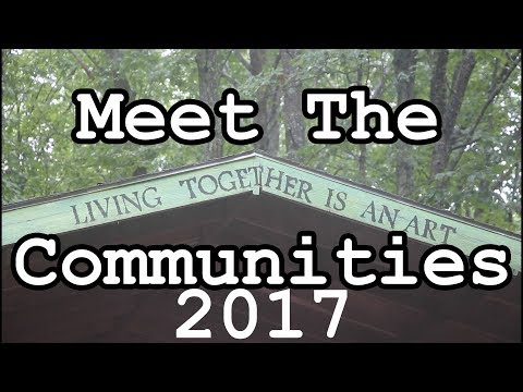 Meet The Communities: Twin Oaks Communities Conference 2017