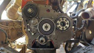 Engine Timing Setting of Hino Ashok Leyland 2518 ii By Mechanic Gyaan,