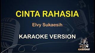 Download lagu Cinta Rahasia Elvy Sukaesih ( Karaoke Dangdut Koplo ) - Taz Musik Karaoke