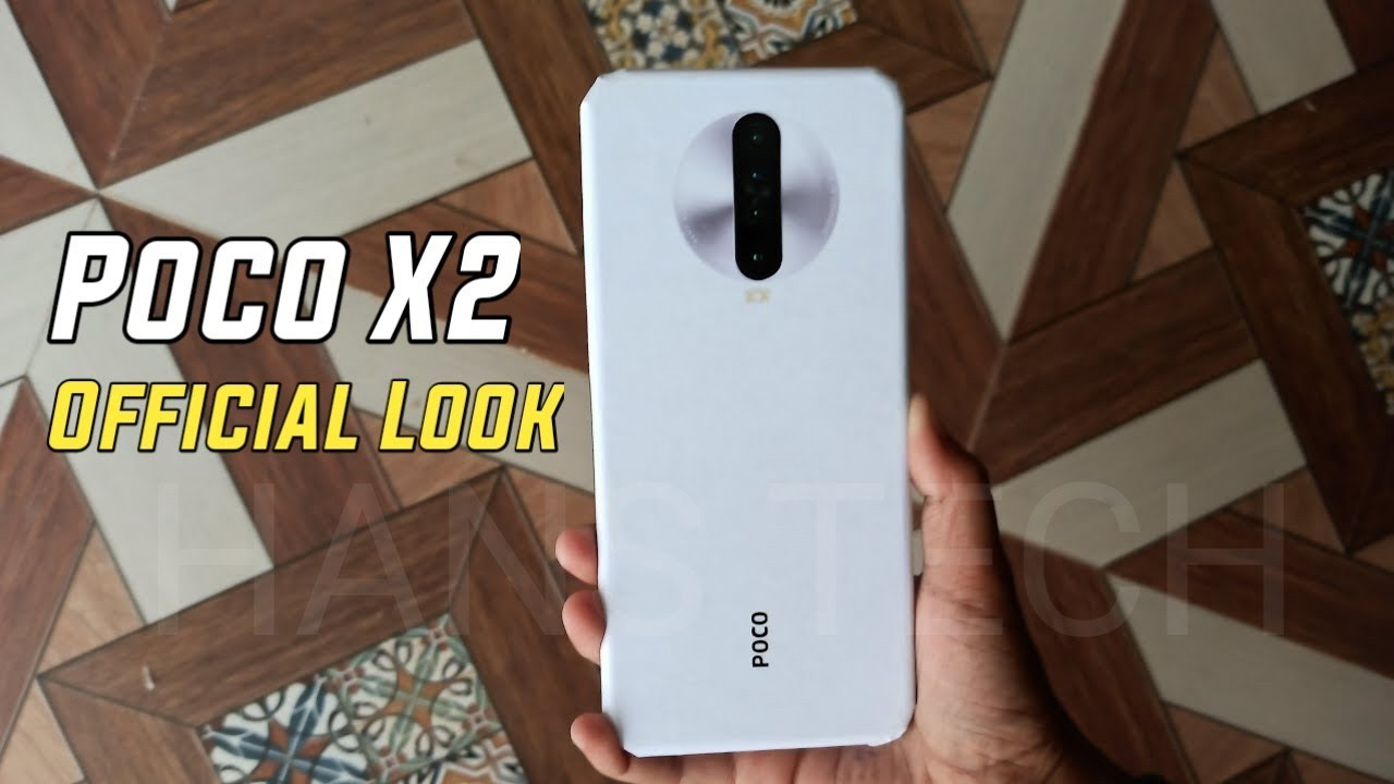 Poco X2 Official Look Price In India Specifications Release Date