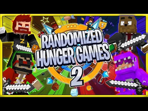 randomized-hunger-games-2!-#2-|-jeromeasf-/-purplevacktor-/-captainsparklez