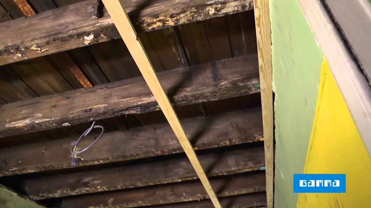 Houten plafond plaatsen met planchetten  Klustips  GAMMA