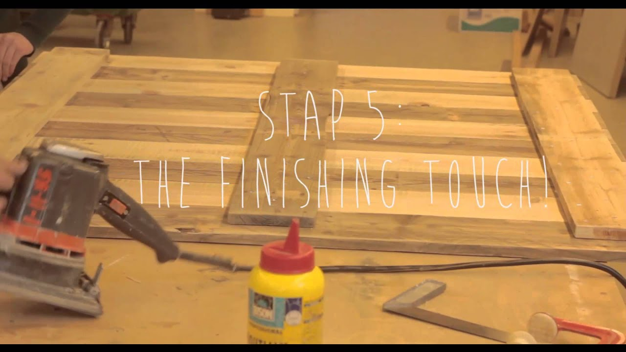 Steenschotten Tafel Maken Do It Yourself Tafel Making Of Youtube