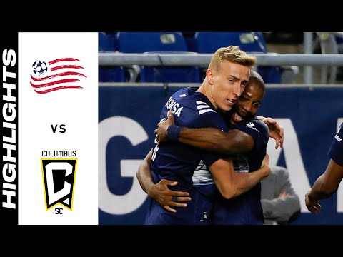New England Columbus Goals And Highlights