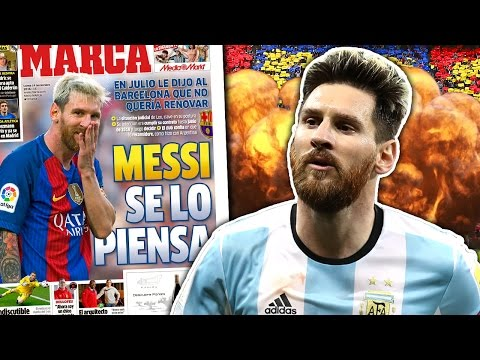 Lionel Messi REJECTS Barcelona's New Contract Offer! | W&L