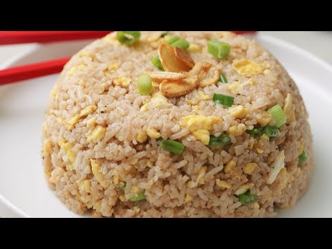 Restaurant Style Garlic Egg Fried Rice Recipe With 30 Minute Chef