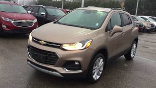 2018 Chevrolet Trax Premier AWD Sandy Ridge Metallic Roy Nichols Motors Courtice ON