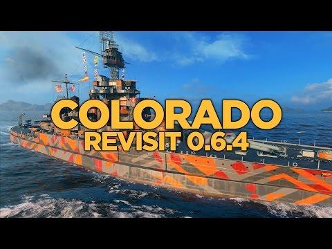 World of Warships - Colorado Revisit 0.6.4