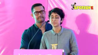 Aamir khan and kiran rao speak about their struggles while trying for a baby | spotboye