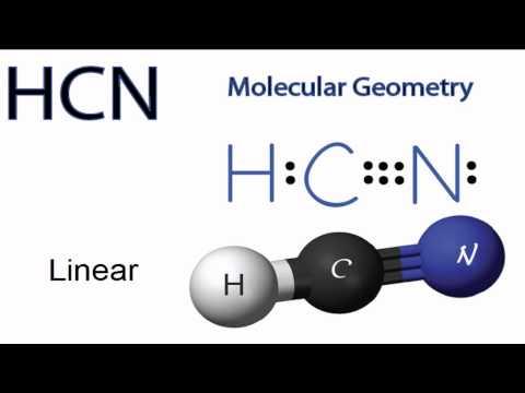 HCN Molecular Geometry