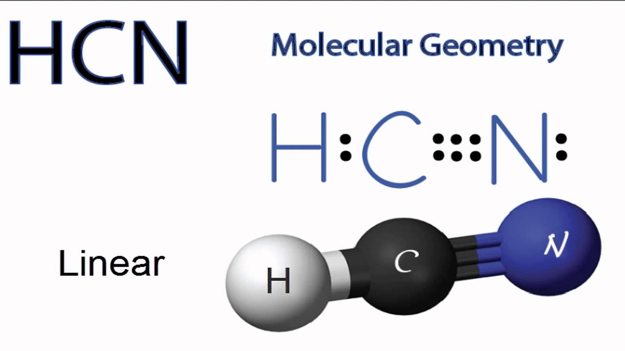 Hcn electron dot structure