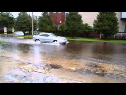 """Tampa Flooding on North """"A"""" Street by Mark & Carrie"""