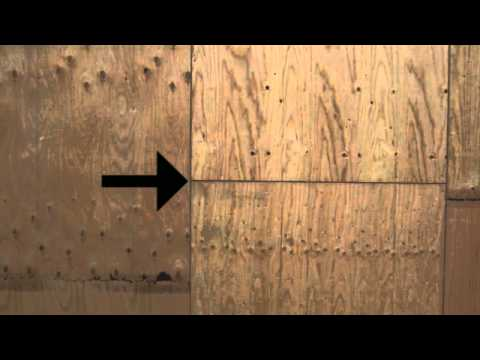 Wood House Framing Plywood Gaps Home Building And