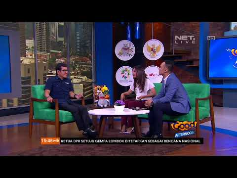 Talkshow Wishnutama, The Man Behind Opening Ceremony Asian Games 2018