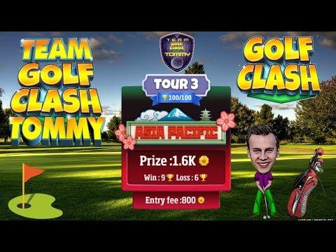 Golf Clash tips, Hole 3 - Par 5, Tour 3 - Asia Pacific - Sakura Hills, Guide & Tutorial!