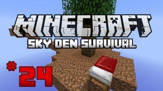 Minecraft: Sky Den Survival W/ SparxSLX - Ep24 - Wand Of Adept!